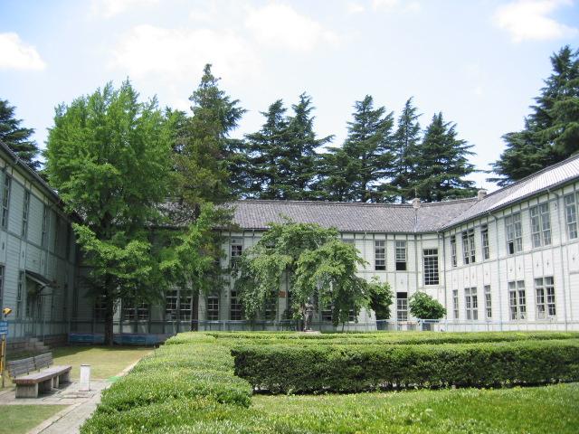 松本高等学校本館